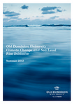 Old Dominion University Climate Change and Sea Level Rise Initiative, Summer 2013