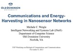 Communications and Energy-Harvesting in Nanosensor Networks