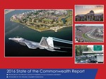 "2016 State of the Commonwealth Report by James V. Koch, Vinod Agarwal, Barbara Blake-Gonzalez, Terry L. Clower, Vicky Curtis, Steve Daniel, Larry ""Chip"" Filer, Tim Komarek, Feng Lian, and Sharon Lomax"