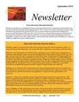 Friends of the Libraries Newsletter, September 2015 by Fern McDougal (Editor)