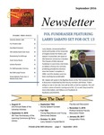 Friends of the Libraries Newsletter, September 2016