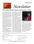 Friends of the Libraries Newsletter, December 2016