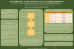 3D LIDAR Human Skeleton Estimation for Long Range Identification