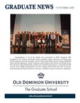 Graduate News by Graduate School, Old Dominion University