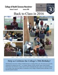College of Health Sciences Newsletter, January 2016