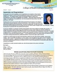 College of Health Sciences Newsletter, May 2014