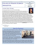 College of Health Sciences Newsletter, April 2014