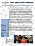 College of Health Sciences Newsletter, December 2013/January 2014