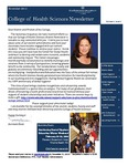 College of Health Sciences Newsletter, November 2013