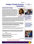 College of Health Sciences Newsletter, May 2013