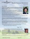 College of Health Sciences Newsletter, August 2012