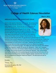 College of Health Sciences Newsletter, March 2012
