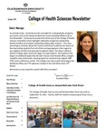 College of Health Sciences Newsletter, October 2011