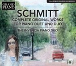 Florent Schmidt: Complete Original Works for Piano Duet and Duo by Andrey Kasparov (Performer), Oksana Lutsyshyn (Performer), and The Invencia Piano Duo