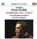 Adolphus Hailstork: Symphonies Nos. 2 and 3 by Adolphus Hailstork (Composer), David Lockingham (Conductor), and Grand Rapids Symphony (Performer)