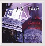 J.S. Bach: The Gamba Sonatas by Mike Hall (Performer) and Rebecca Bell (Performer)
