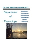 Department of Psychology Newsletter by Department of Psychology, Old Dominion University