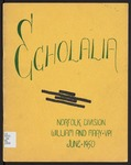 Echolalia, 1950 by Norfolk Division of the College of William and Mary